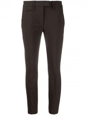 Укороченные брюки строгого кроя Dondup. Цвет: зеленый