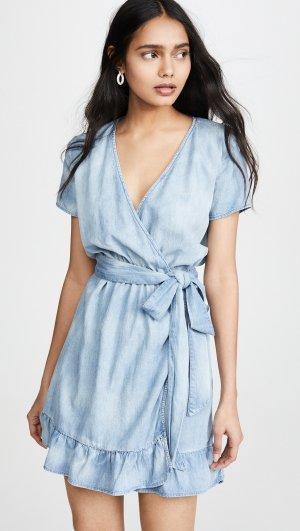 Pretty Woman Dress Blank Denim