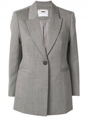 Полуприталенный пиджак Karine CAMILLA AND MARC. Цвет: серый