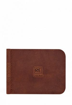 Зажим для купюр Reconds MP002XU0E3DA. Цвет: коричневый