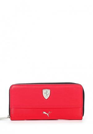 Портмоне Puma Ferrari LS Wallet F rosso corsa. Цвет: красный