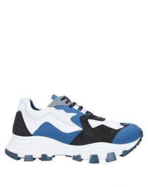 Низкие кеды и кроссовки CINZIA ARAIA. Цвет: синий