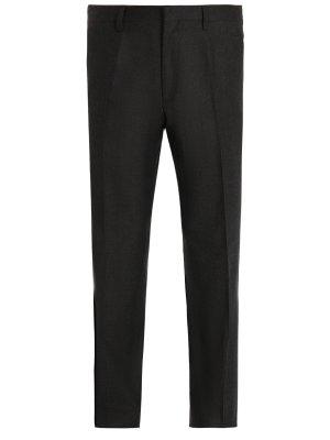 Классические брюки из шерсти BILANCIONI. Цвет: разноцветный