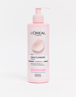 Очищающее молочко для снятия макияжа LOreal Paris Fine Flowers-Бесцветный L'Oreal