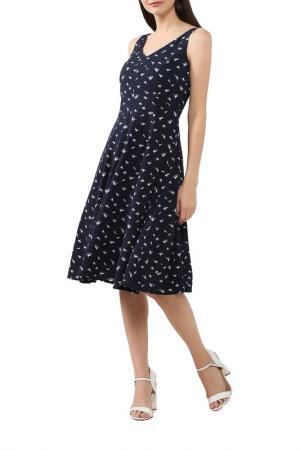 Платье BELUCCI. Цвет: темно-синий