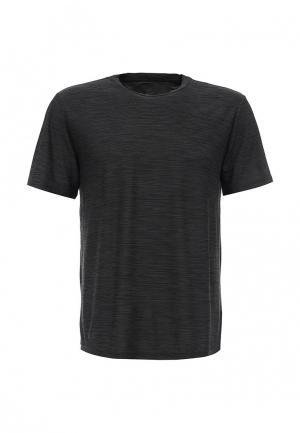 Футболка спортивная Nike Mens Breathe Training Top. Цвет: серый