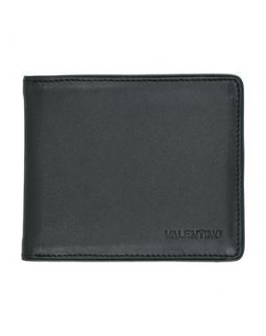 Бумажник VALENTINO di MARIO. Цвет: черный