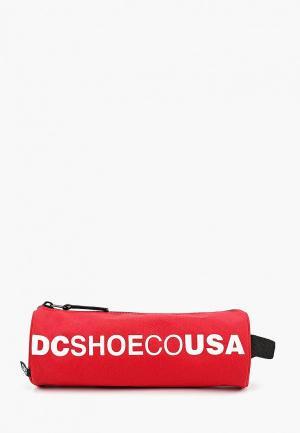 Пенал DC Shoes. Цвет: красный