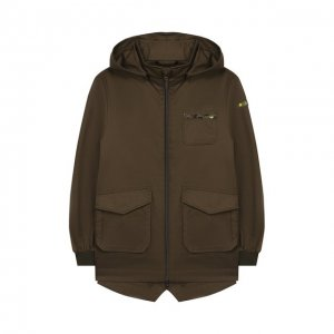 Хлопковая куртка Herno. Цвет: хаки