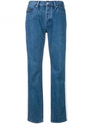 Зауженные джинсы с высокой талией Calvin Klein Jeans