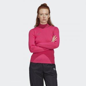 Водолазка Originals adidas. Цвет: розовый