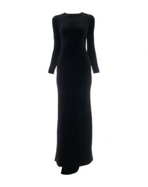 Длинное платье HERVE' L. LEROUX. Цвет: черный