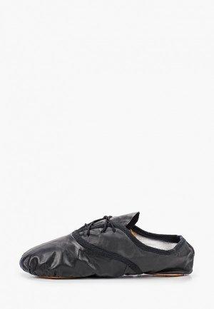 Ботинки для танцев Танцевальный мир. Цвет: черный