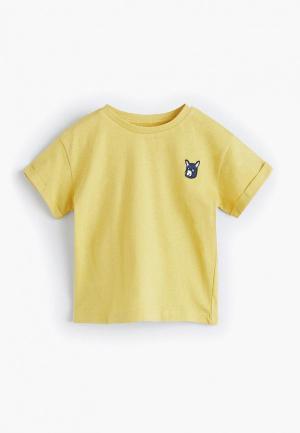 Футболка Mango Kids - MARCOS4. Цвет: желтый