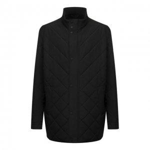 Утепленная куртка Paul&Shark. Цвет: чёрный