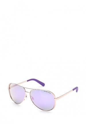 Очки солнцезащитные Michael Kors MK5004 10034V. Цвет: золотой