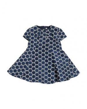Платье LOREDANA. Цвет: темно-синий