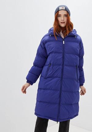 Куртка утепленная Napapijri ART LONG. Цвет: синий