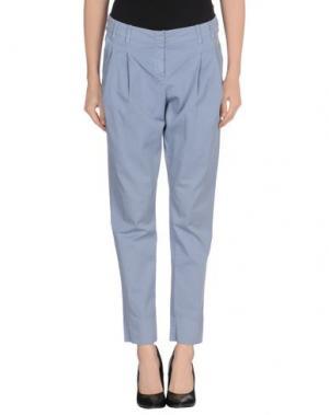 Повседневные брюки BLUE DEEP. Цвет: сиреневый