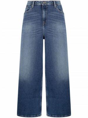 Укороченные джинсы Meg широкого кроя Tommy Jeans. Цвет: синий