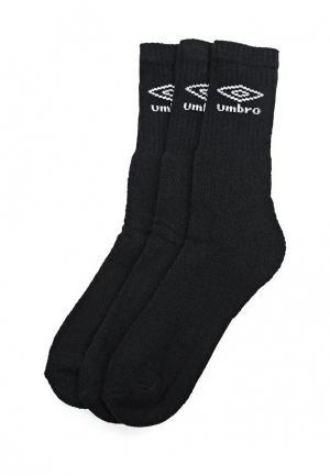 Носки Umbro SPORT SOCKS. Цвет: черный
