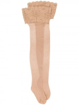 Satin Touch 20 stockings Wolford. Цвет: нейтральные цвета