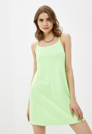 Платье Nike W NSW ICN CLSH DRESS PK. Цвет: зеленый