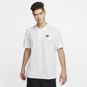 Мужская рубашка-поло Sportswear - Белый Nike