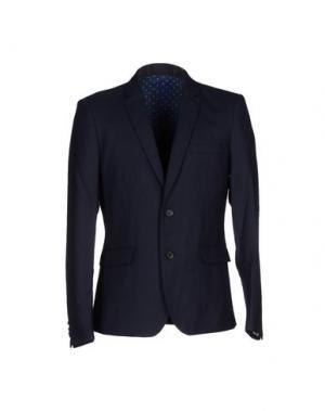 Пиджак SUIT EST. 2004. Цвет: темно-синий