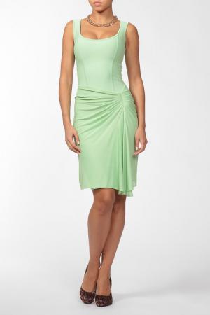 Платье Herve L.Leroux. Цвет: зеленый