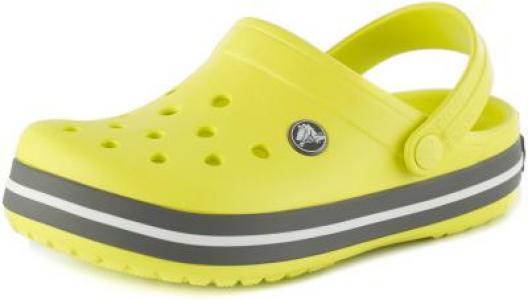 Шлепанцы детские Crocband Clog K, размер 30 Crocs. Цвет: зеленый