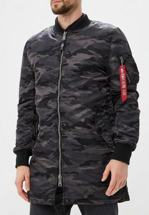 Парка Alpha Industries MA-1 Coat. Цвет: черный