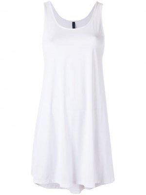 Пляжное платье-майка Lygia & Nanny. Цвет: белый