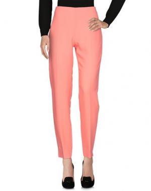 Повседневные брюки ANTONIO BERARDI. Цвет: коралловый