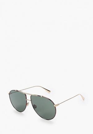 Очки солнцезащитные Christian Dior DIORMONSIEUR1 2IK. Цвет: золотой