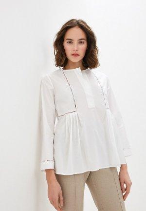 Блуза Brian Dales. Цвет: белый