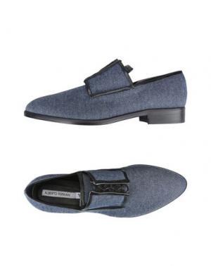 Обувь на шнурках ALBERTO FERMANI. Цвет: синий