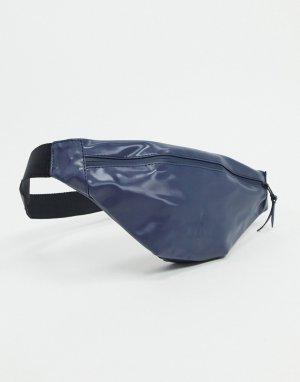 Синяя миниатюрная сумка-кошелек на пояс 1313-Синий Rains