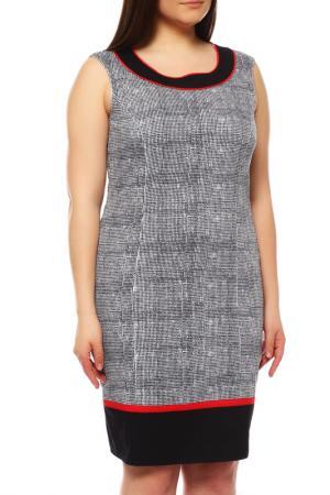 Платье FRANK WALDER. Цвет: синий, белый