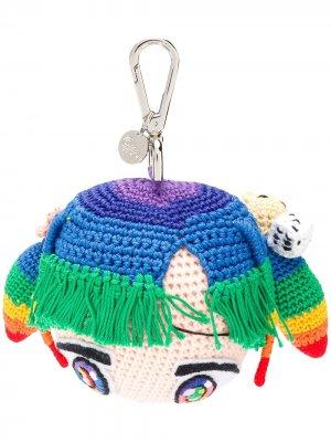 Брелок Doll Mr. x в форме куклы Mira Mikati. Цвет: розовый