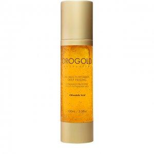 Гель-пилинг для лица мульти-витамин 24K Orogold Cosmetics. Цвет: бесцветный