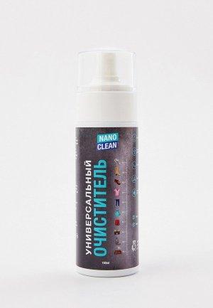 Шампунь для чистки обуви Nanoclean универсальный нано-очиститель,150 мл. Цвет: прозрачный