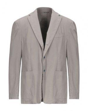 Пиджак SARTORIA TOSCANA. Цвет: голубиный серый
