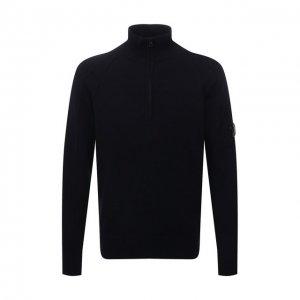 Шерстяной свитер C.P. Company. Цвет: синий