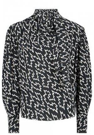 Блуза ISABEL MARANT. Цвет: черный