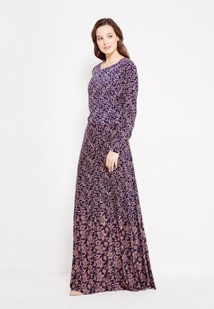Платье Sahera Rahmani ЛИНО. Цвет: фиолетовый