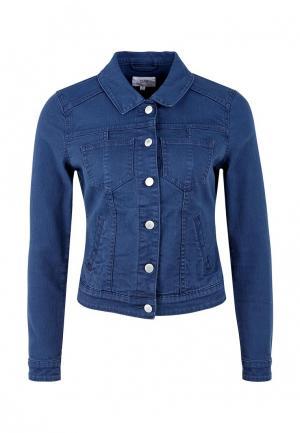 Куртка джинсовая Q/S designed by. Цвет: синий