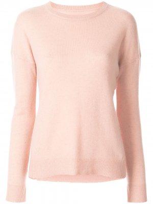 Пуловер Cici с нашивками на локтях Zadig&Voltaire. Цвет: розовый