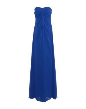 Длинное платье LEXUS. Цвет: ярко-синий