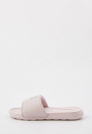 Сланцы Nike W VICTORI ONE SLIDE. Цвет: розовый